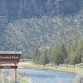 The Wild and Scenic Crooked River.- Chimney Rock Campground