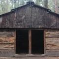 Gamlin historic cabin. Grant Grove.- Azalea Campground