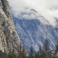 View of Kings Canyon from near Canyon View Campground.- Canyon View Group Campground