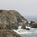 Much of the southern Sonoma Coast is marked by a rugged, rocky coastline.- Bodega Head