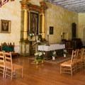 Chapel at Mission San Juan Bautista.- Mission San Juan Bautistia