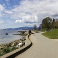 The beautiful beach area at Second Beach along the northern edge of downtown Vancouver.- Stanley Park