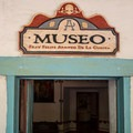 Museum entrance.- Mission San Juan Bautistia