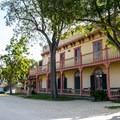The Zanetta House at San Juan Bautistia State Park.- San Juan Bautista Historic State Park