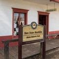 San Juan Bautista Historic State Park tour entrance.- San Juan Bautista Historic State Park