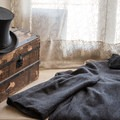 Authentic clothing displayed along the tour.- San Juan Bautista Historic State Park