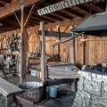 Blacksmith area.- San Juan Bautista Historic State Park