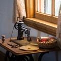 Inside the Zanetta House.- San Juan Bautista Historic State Park