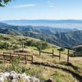 View of Monterey Bay from Fremont Peak Trail.- Fremont Peak Hike