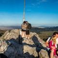 Hikers enjoying Fremont Peak.- Fremont Peak Hike