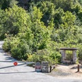 Fremont Peak Trail entrance from the parking lot.- Fremont Peak Hike