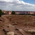 Just a short walk to spectacular views at Canyonlands.- Willow Flat Campground