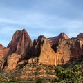 Can you spot the hanging canyon?- Kolob Canyons Viewpoint + Timber Creek Overlook Trail