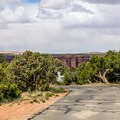 The campground is a single small loop.- Dead Horse Point State Park Campground