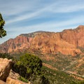 View to the north from the overlook.- Kolob Canyons Viewpoint + Timber Creek Overlook Trail