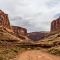 Incredible views in Long Canyon.- Long Canyon