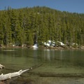 Clear waters of Indigo Lake.- Indigo Lake Campground
