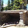 Summerland group shelter.- Summerland + Panhandle Gap