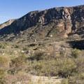 Ridge along the San Diego River.- Mission Trails Regional Park, Visitor Center Loop