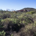 The Visitor Center as seen from the trail.- Mission Trails Regional Park, Visitor Center Loop