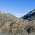 The San Diego River Valley with Fortuna Mountain on the left.- Mission Trails Regional Park, Visitor Center Loop