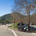 The Oak Canyon Trailhead and parking.- Oak Canyon + Grasslands Crossing Loop, Mission Trails Regional Park