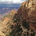 Setting out on the South Kaibab Trail.- South Kaibab + Bright Angel Trails
