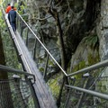 The Cliff Walk, although very safe, leaves some guests feeling a sense of vertigo.- Capilano Suspension Bridge Park