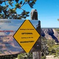 Planning and safety are crucial in the Grand Canyon.- Hermit Trail