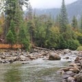 South Fork of the Kings River, Sentinel Campground.- Sentinel Campground
