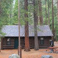 Cedar Grove Visitor Center is located within the campground area.- Sentinel Campground