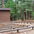 Campfire center.- Sentinel Campground