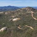 View north toward Escondido.- Potato Chip Rock, Mount Woodson