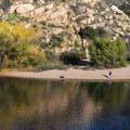 Lake Poway.- Potato Chip Rock, Mount Woodson