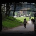 One of the park's pedestrian tunnels. - Golden Gate Park