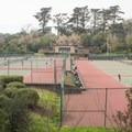 Golden Gate Park's tennis complex.- Golden Gate Park