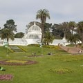 The park is well known for the Conservatory of Flowers building.- Golden Gate Park