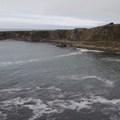 Ocean coves surrounding Fort Ross.- Fort Ross State Historic Park