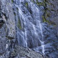 You can get right up next to the falls!- Snoquera Falls Loop