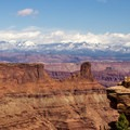 The view from the visitor center is just the beginning!- East + West Rim Trails Loop