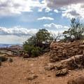 Puebloan dwelling.- Aztec Butte
