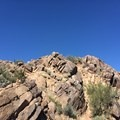 The Camelback Mountain summit.- Cholla Trail