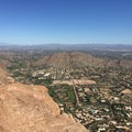 Scottdale viewed from the summit of Camelback Mountain.- Cholla Trail