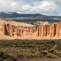 Upper Cathedral Valley.- Cathedral Valley