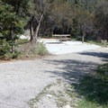 Site 2 is ADA accessible.- Upper Lehman Creek Campground
