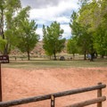 The walk-in sites are very spacious.- Fruita Campground