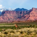 Onion Creek Canyon makes a great side hike.- La Sal Mountains Scenic Loop