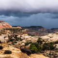 Navajo Knobs Trail, Capitol Reef National Park.- Rim Overlook + Navajo Knobs Trail