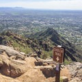 Cholla Trail on Camelback Mountain.- Cholla Trail