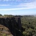 The view down Coal Canyon.- Fern Falls + Coal Canyon Falls